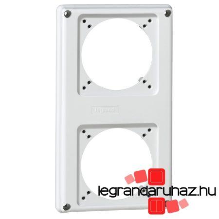 Legrand P17 Tempra kompakt előlap 2 férőhelyes, 16A 057713