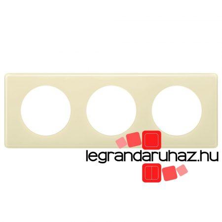 Legrand Céline hármas keret elefántcsont 066623