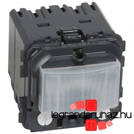 Legrand Céliane mozgásérzékelős kapcsoló BE/KI funkció nélkül, 400 W, 2 vezetékes 067099