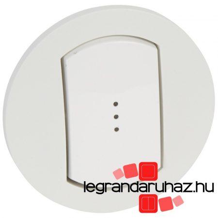 Legrand Céliane széles billentyű, fényjelzős, IP44 067803