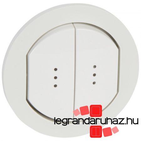 Legrand Céliane kettős billentyű, fényjelzős, IP44 067804