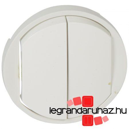 Legrand Céliane kettős billentyű, fehér 068002