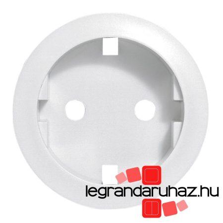 Legrand Céliane 2P+F csatlakozóaljzat burkolat, fehér 068131