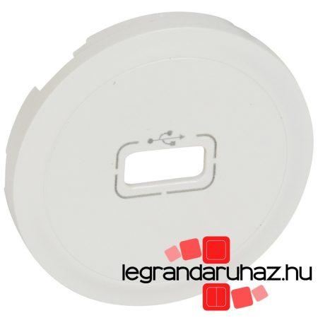 Legrand Céliane USB burkolat, fehér 068253