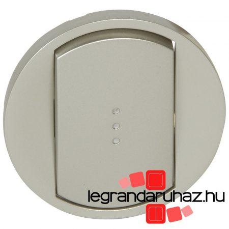 Legrand Céliane széles billentyű, fényjelzős, titán 068303