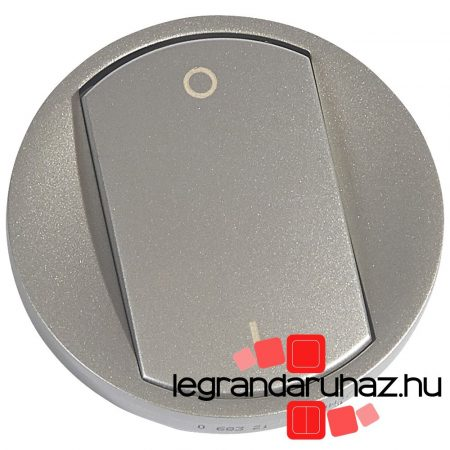 Legrand Céliane I/O billentyű, titán 068321
