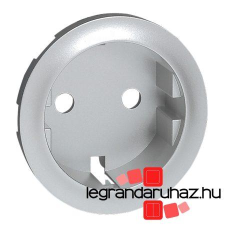 Legrand Céliane 2P+F csatlakozóaljzat burkolat, titán 068431