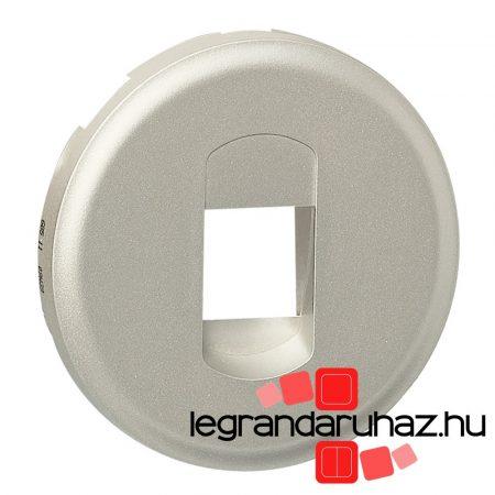 Legrand Céliane 1Xhangszóró csatlakozóaljzat burkolat, titán 068511