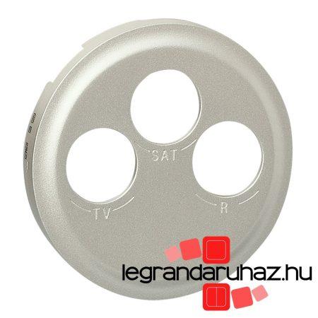 Legrand Céliane TV-RD-SAT burkolat, titán 068585