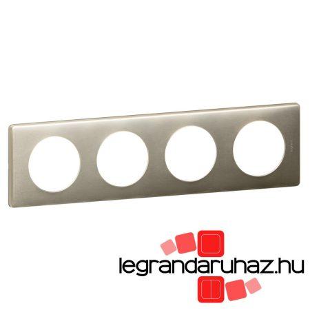 Legrand Céliane négyes keret, titán 068904