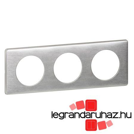 Legrand Céliane hármas keret, alumínium 068923