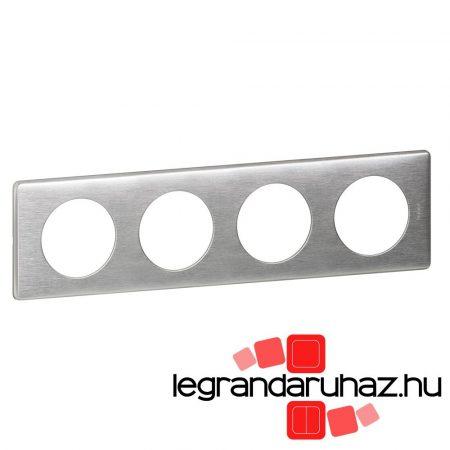 Legrand Céliane 4-es keret, alumínium 068924