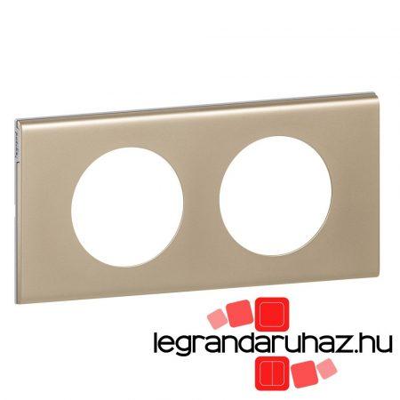 Legrand Céliane kettős keret, világosnikkel 069112