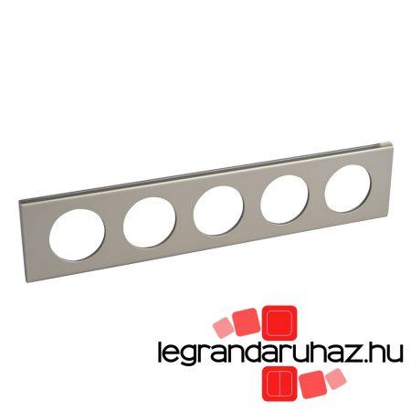Legrand Céliane ötös keret, világosnikkel 069120