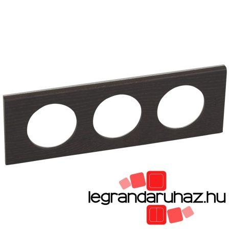 Legrand Céliane hármas keret, wenge-színű 069203