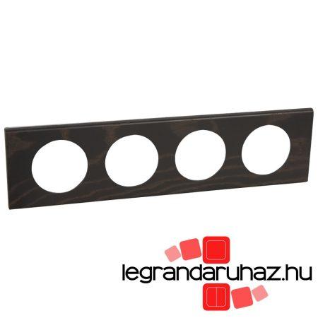 Legrand Céliane négyes keret, wenge-színű 069204