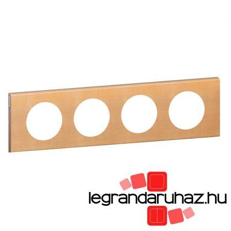 Legrand Céliane négyes keret, juhar 069214