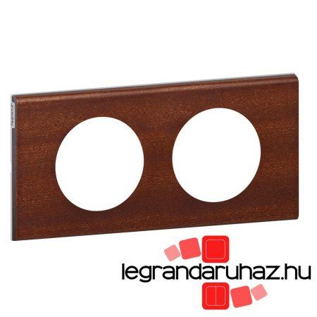 Legrand Céliane kettős keret, mahagóni 069222