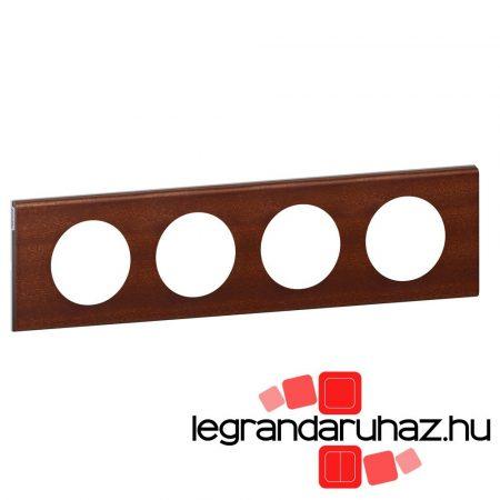 Legrand Céliane négyes keret, mahagóni 069224