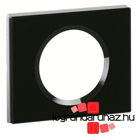 Legrand Céliane egyes keret, feketeüveg 069301