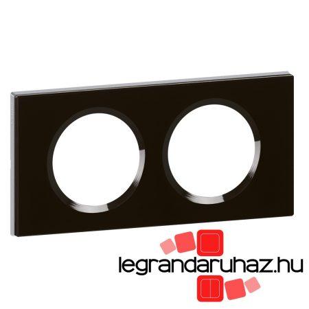 Legrand Céliane kettős keret, feketeüveg 069302