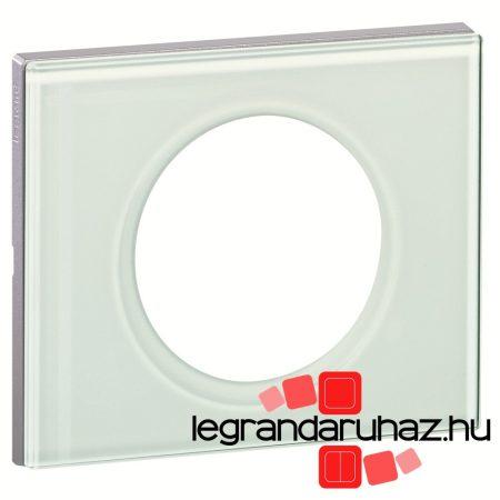 Legrand Céliane egyes keret, fehérüveg 069311