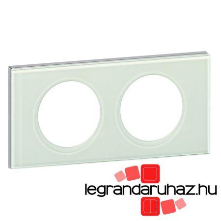 Legrand Céliane kettős keret, fehérüveg 069312