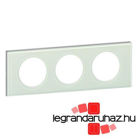 Legrand Céliane hármas keret, fehérüveg 069313