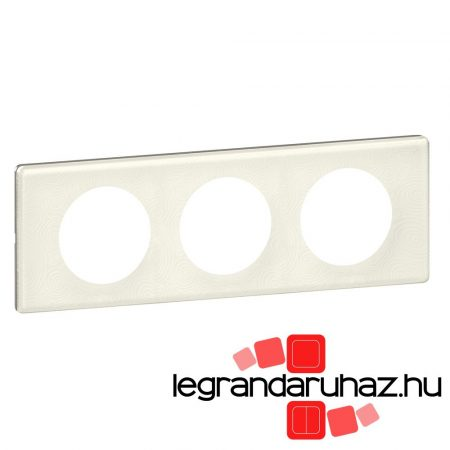 Legrand Céliane hármas keret porcelán 069353
