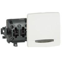 Legrand Oteo falon kívüli egypólusú nyomó fényjelzős fehér 086105