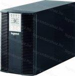 Legrand KEOR LP UPS szünetmentes áramforrás 1KVA 5 perc IEC - 1/1 online kettős konverziós VFI-SS 310154