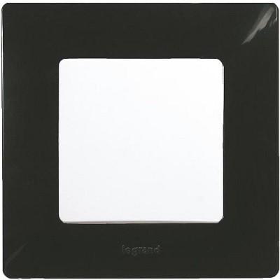 Legrand Niloé egyes keret, matt fekete 397031