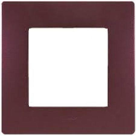 Legrand Niloé egyes keret, padlizsán lila 397081