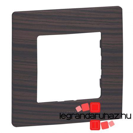 Legrand Niloé egyes keret, sötét fa dekor 397091