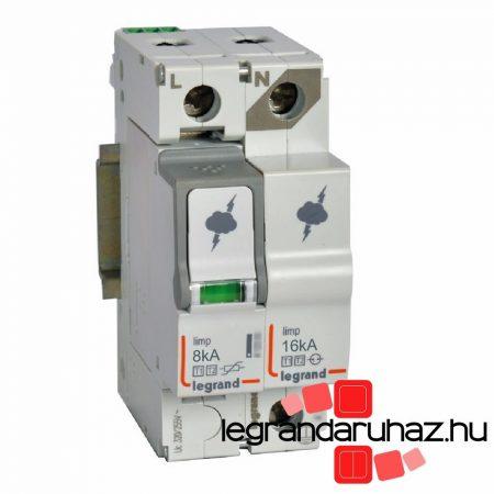 Legrand Túlfeszültség-levezető T1+T2 8KA 1P+N NR 412256
