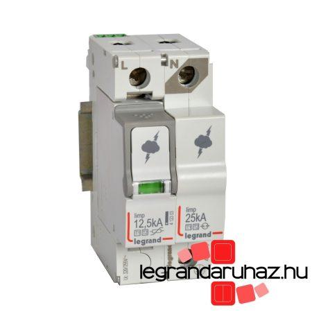 Legrand Túlfeszültség-levezető T1+T2 12,5KA 1P+N NR +SD 412276