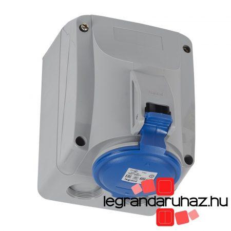 Legrand P17 Tempra PRO Dafr-322k06m 230V IP44 rrögzíthető aljzat 555254