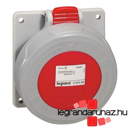 Legrand P17 Tempra Pro Dafbe164k06T 400V IP67 döntött aljzat 555389
