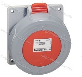 Legrand P17 Tempra Pro Dafbe324k09T 230V IP67 döntött aljzat 555486