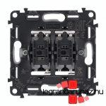 Legrand Valena InMatic kettős váltóérintkezős nyomó mechanizmus 752018