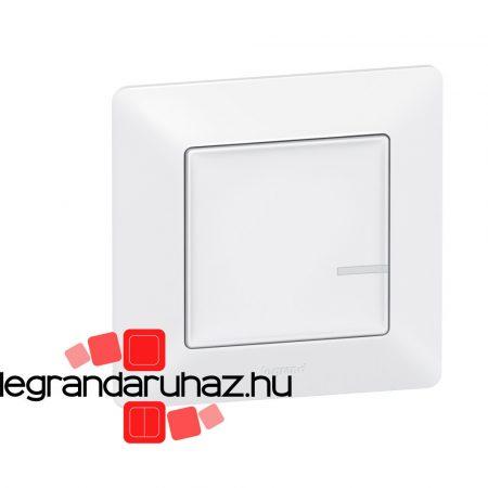 Legrand Valena Life Netatmo vezeték nélküli kapcsoló - egypólusú fehér 752185