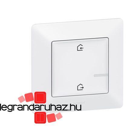 Legrand Valena Life Netatmo vezeték nélküli főkapcsoló - Érkezés/Távozás funkcióval fehér 752186