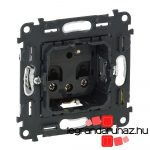 Legrand Valena InMatic 2P+F csatlakozóaljzat mechanizmus felújításokhoz, gyermekvédelemmel, csavaros vezetékbekötéssel, max. 6mm2 753028