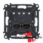 Legrand Valena InMatic 2xRJ45 Cat. 6A STP csatlakozóaljzat mechanizmus 753049