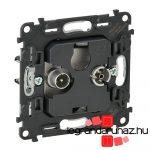 Legrand Valena InMatic TV-Rádió csatlakozóaljzat mechanizmus, 10 dB 753062