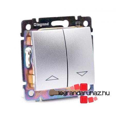 Legrand Valena redőnykapcsoló alumínium 770104