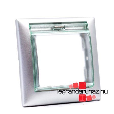 Legrand Valena IP44 egyes keret alumínium 770150