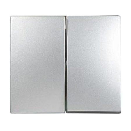 Legrand Valena kettős billentyű alumínium 770252