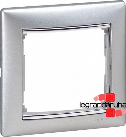 Legrand Valena egyes keret Alumínium / Ezüst 770351