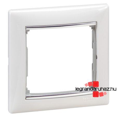 Legrand Valena egyes keret Fehér / Ezüst 770491